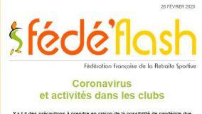 Coronavirus info FFRS