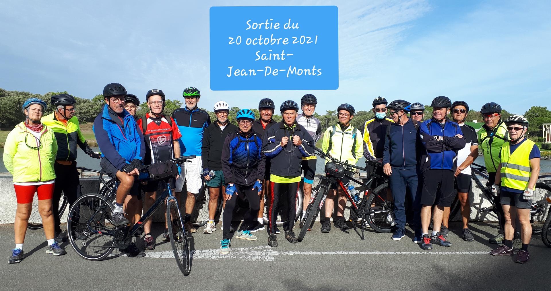 Sortie VTC à St-Jean de Monts